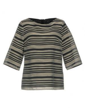 Блузка NATAN. Цвет: свинцово-серый