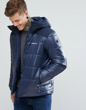 Didriksons 1913 Темно-синяя дутая куртка Reed. Цвет: темно-синий