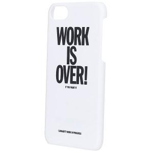 Чехол для Iphone 6  Work Is Over Hardcase White Carhartt WIP. Цвет: белый