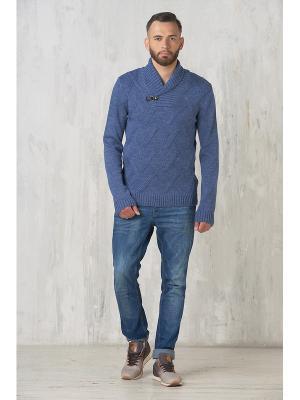 Пуловер VAY. Цвет: серо-голубой