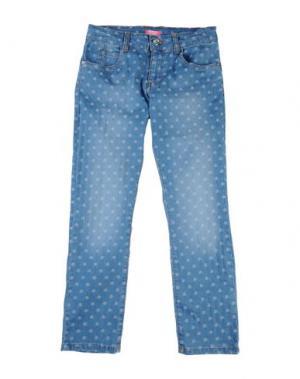 Джинсовые брюки FIORUCCI YOUNGWEAR. Цвет: синий