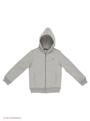 Пуловер Sisley Young. Цвет: серебристый, серо-зеленый