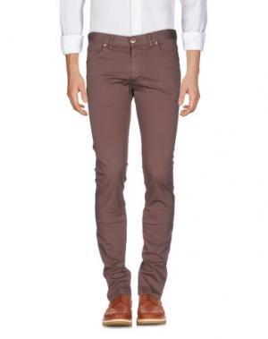 Повседневные брюки ALV ANDARE LONTANO VIAGGIANDO. Цвет: светло-коричневый