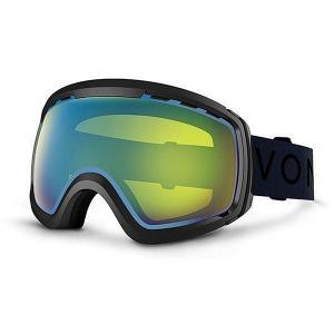 Маска для сноуборда  Feenom Nls Black Gloss/Yellow Chrome Von Zipper. Цвет: черный