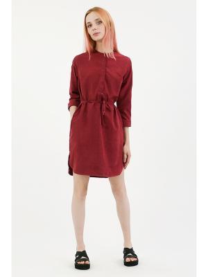 Платье One color bordo (KW5) MONOROOM