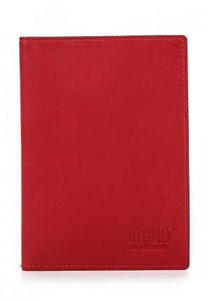 Обложка для документов Mano. Цвет: красный