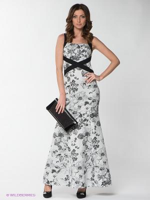 Платье Yulia Dushina. Цвет: серый, черный