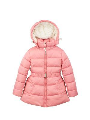 Куртка Pulka. Цвет: коралловый