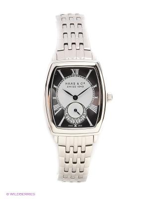 Часы HAAS & Cie. Цвет: серебристый
