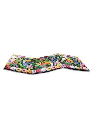 Сидушка лежак Gift'n'Home. Цвет: зеленый, белый, оранжевый
