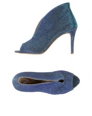 Ботинки L'ARIANNA. Цвет: бирюзовый