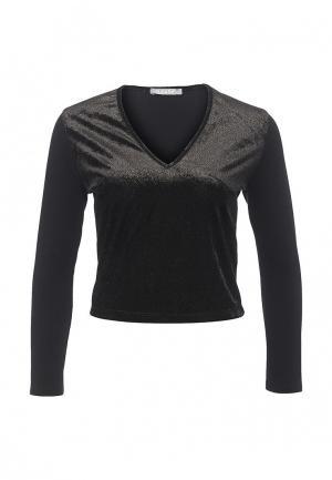 Блуза Please. Цвет: черный