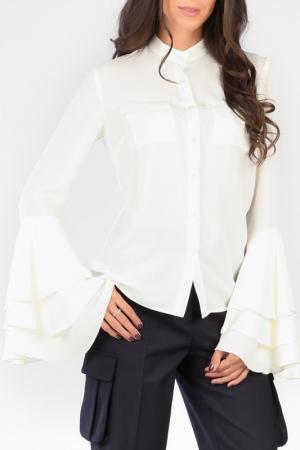 Блуза CARLA BY ROZARANCIO. Цвет: milk