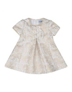 Платье MIMISOL. Цвет: песочный