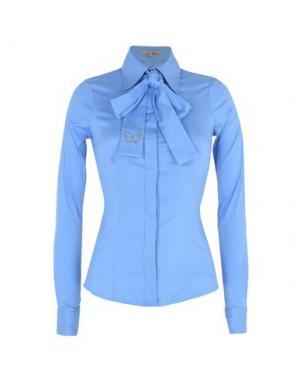 Pубашка BETTY BLUE. Цвет: небесно-голубой