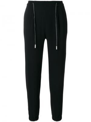 Elasticated waist trousers Eleventy. Цвет: чёрный