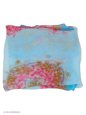 Платок Stilla s.r.l.. Цвет: голубой, розовый