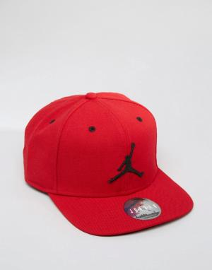Jordan Красная бейсболка Nike Jumpman 619360-689. Цвет: красный