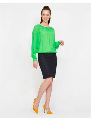 Блуза D.VA. Цвет: светло-зеленый
