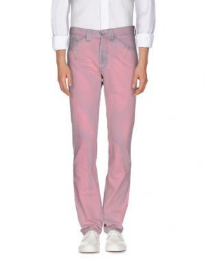 Джинсовые брюки CODE ONE\P. Цвет: розовый