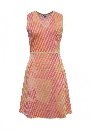 Платье M Missoni. Цвет: оранжевый