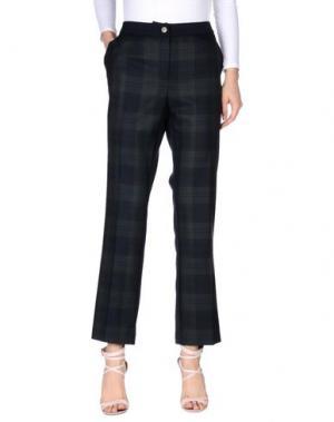 Повседневные брюки PERSONA. Цвет: темно-синий