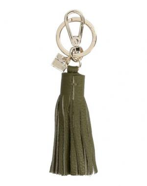 Брелок для ключей COCCINELLE. Цвет: зеленый-милитари