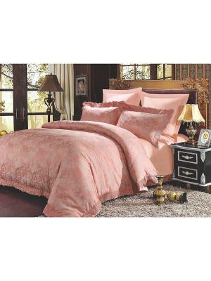 Комплект постельного белья, Евро Sofi de Marko. Цвет: красный