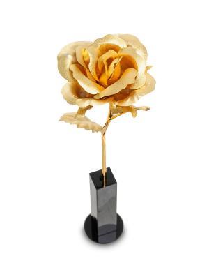 Роза малая Gold Leaf. Цвет: золотистый