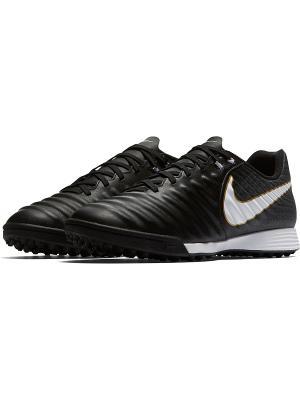Бутсы TIEMPOX LIGERA IV TF Nike. Цвет: черный, белый