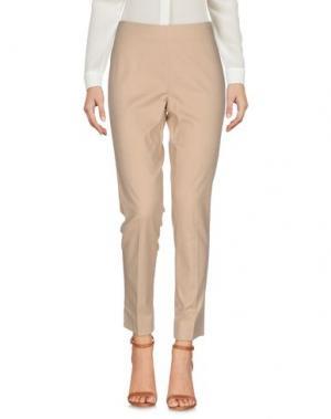 Повседневные брюки I BLUES. Цвет: бежевый