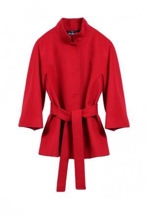 Полупальто Heresis. Цвет: красный