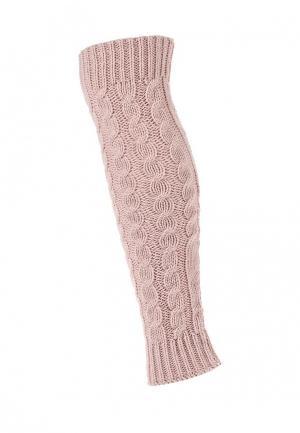 Гетры MKM. Цвет: розовый