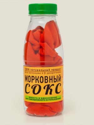 Носки Морковный сокс ЛАЙТ Бюро находок. Цвет: оранжевый