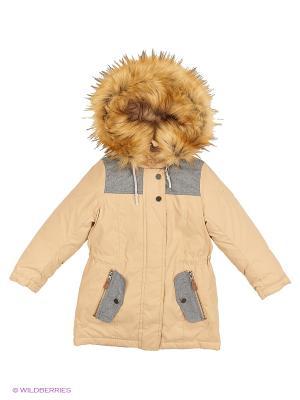 Куртка BOOM. Цвет: бежевый