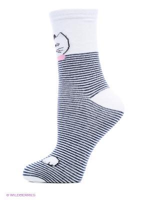 Носки Infinity Lingerie. Цвет: белый