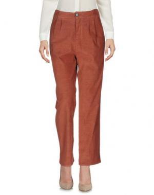 Повседневные брюки MASSCOB. Цвет: коричневый