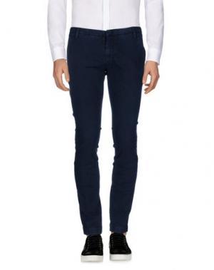 Повседневные брюки MASSIMO BRUNELLI. Цвет: темно-синий