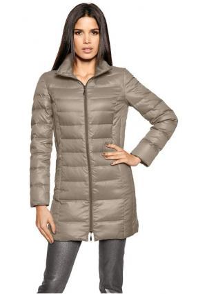 Пуховое пальто Rick Cardona. Цвет: бордовый, нефритовый