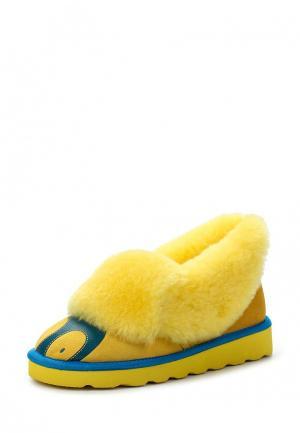 Полусапоги Winzor. Цвет: желтый