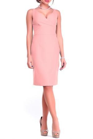 Платье-сарафан Dioni. Цвет: персиковый
