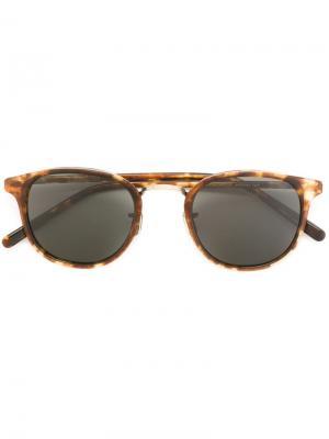 Солнцезащитные очки EV743 Eyevan7285. Цвет: коричневый