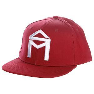 Бейсболка  House Logo Adj Cardinal Sk8mafia. Цвет: красный