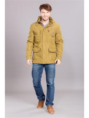 Куртка COLD WIND IS MIRAGE. Цвет: хаки