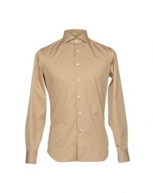 Pубашка ALESSANDRO GHERARDI. Цвет: бежевый