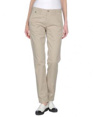 Повседневные брюки SQUAD². Цвет: песочный