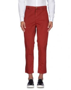 Повседневные брюки HAVANA & CO.. Цвет: кирпично-красный