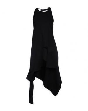 Платье длиной 3/4 DANIELLE ROMERIL. Цвет: черный