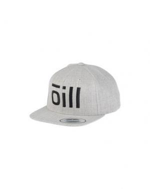 Головной убор ŌILL. Цвет: светло-серый