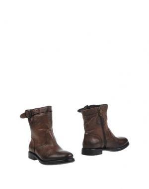 Полусапоги и высокие ботинки CREATIVE. Цвет: какао